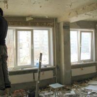 Отделка квартир в Красноярске, гостиная, Устиновича